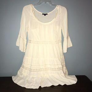 Cream summer/spring dress.